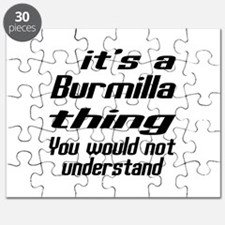 Burmilla Thing You Would Not Understand Puzzle