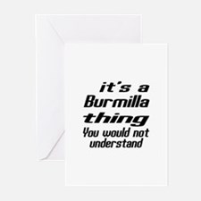 Burmilla Thing You Would Greeting Cards (Pk of 10)