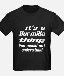 Burmilla Thing You Would Not Und T