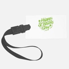 happy st patrick's day Luggage Tag