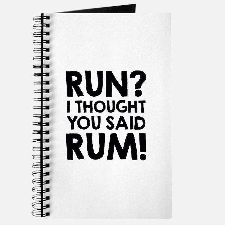 Run Rum Journal