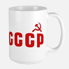 Hammer and Sickle CCCP Mugs