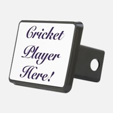 Cricket Player Hitch Cover