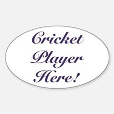 Cricket Player Decal