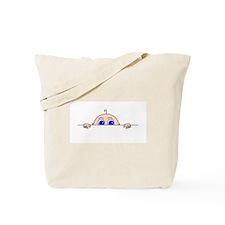 PEEK-A-BOO BABY (Blue Eyes) Tote Bag