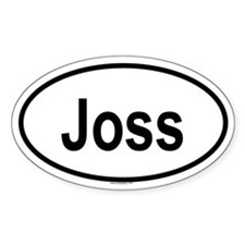 JOSS Oval Decal