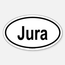 JURA Oval Decal