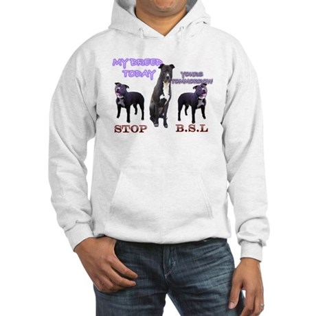 PITBULLS STOP B.S.L -Hooded Sweatshirt