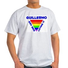 Guillermo Gay Pride (#005) T-Shirt