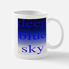 307. deep blue sky..[color] Mug