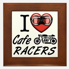 I lover Care Racer Framed Tile