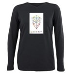 Kabbalah Plus Size Long Sleeve Tee