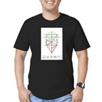 Kabbalah Men's Fitted T-Shirt (dark)