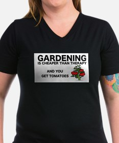 GRDENING IS CHEAPER THAN THERAPY T-Shirt