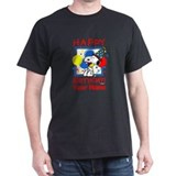 Snoopy birthday Dark T-Shirt