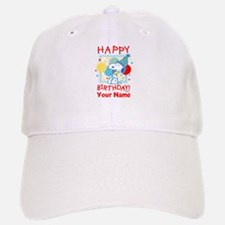 Peanuts Happy Birthday Red Personalized Baseball Baseball Cap
