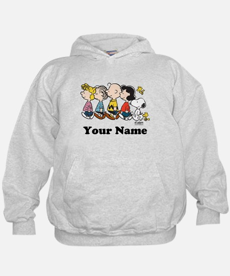 Peanuts Walking No BG Personalized Hoody