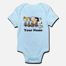 Peanuts Walking No BG Personalized Infant Bodysuit