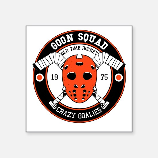 Goon Hockey mask Sticker