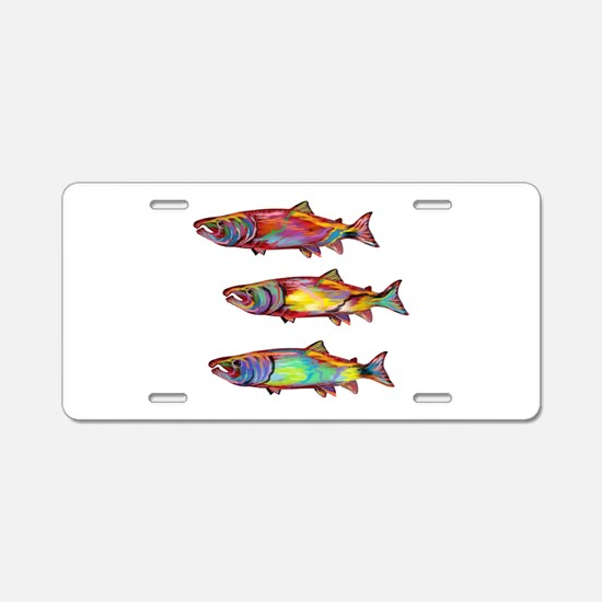 SCHOOL Aluminum License Plate