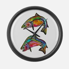 SCHOOL Large Wall Clock