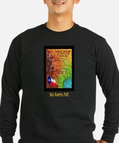 Ski Santa Fe!!- Dark Long Sleeve T-Shirt