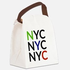 Unique Queens new york Canvas Lunch Bag