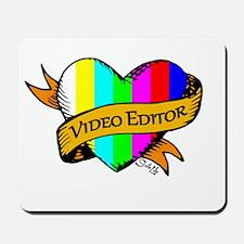 Editor's Heart Mousepad