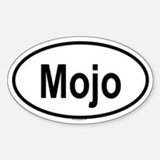 MOJO Oval Decal