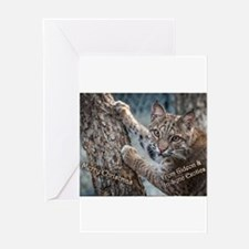 Gideon in the Trees Greeting Cards