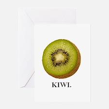 Kiwi. Greeting Card