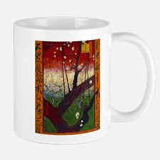 Flowering Plum Tree Mugs