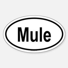 MULE Oval Decal