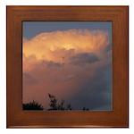 Sunset Clouds Framed Tile