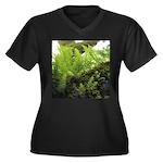 Ferns on Oak Tree Plus Size T-Shirt