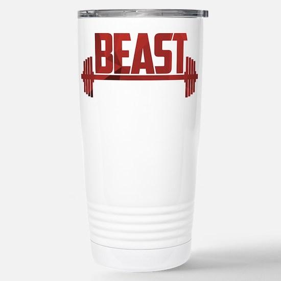 Beast Red Stainless Steel Travel Mug