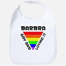 Barbra Gay Pride (#006) Bib