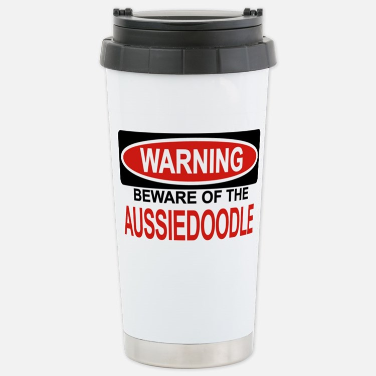 Cute Aussiedoodle Travel Mug