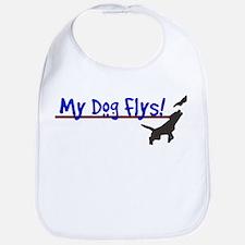 My Dog Flys Bib