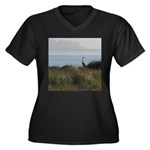 Great Blue Heron Plus Size T-Shirt