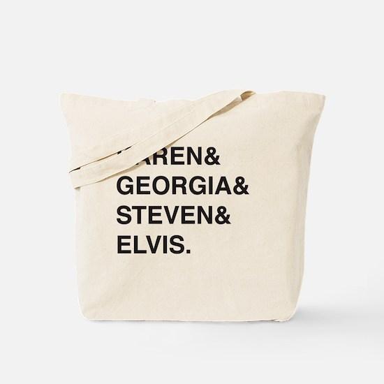 Cute Favorites Tote Bag