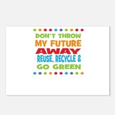 Dont throw my future away Postcards (Package of 8)