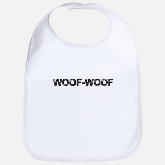 Woof-Woof Baby Bib