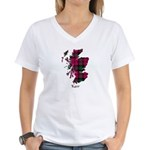 Map - Kerr Women's V-Neck T-Shirt