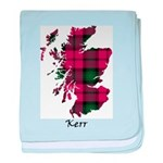 Map - Kerr baby blanket