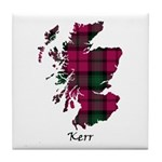Map - Kerr Tile Coaster