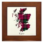 Map - Kerr Framed Tile
