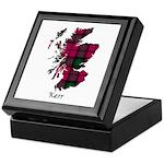 Map - Kerr Keepsake Box