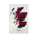 Map - Kerr Rectangle Magnet (100 pack)