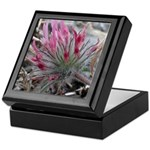 Pink Flowers Keepsake Box